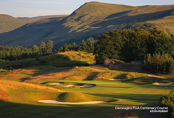 Gleneagles PGA Centenary Course - Better Billy Bunkers