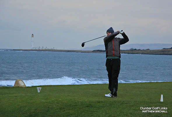 St. Andrews golf in the winter