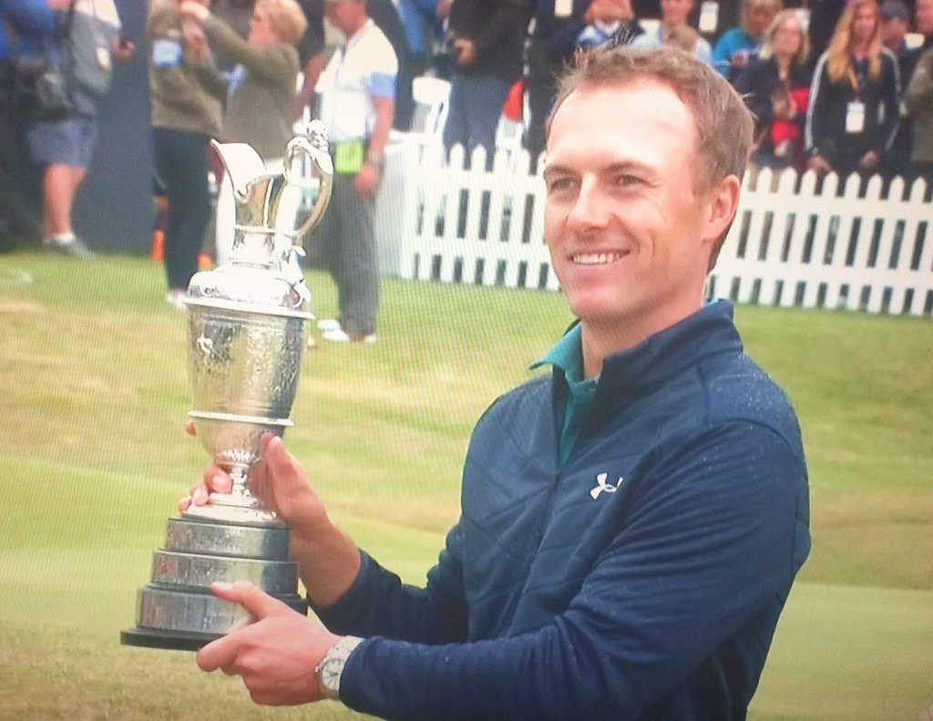 Jordan Spieth Adds To Legacy With Open Championship Win