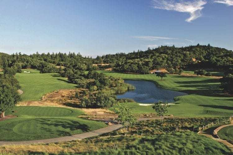 Mayacama Country Club - Wine and golf