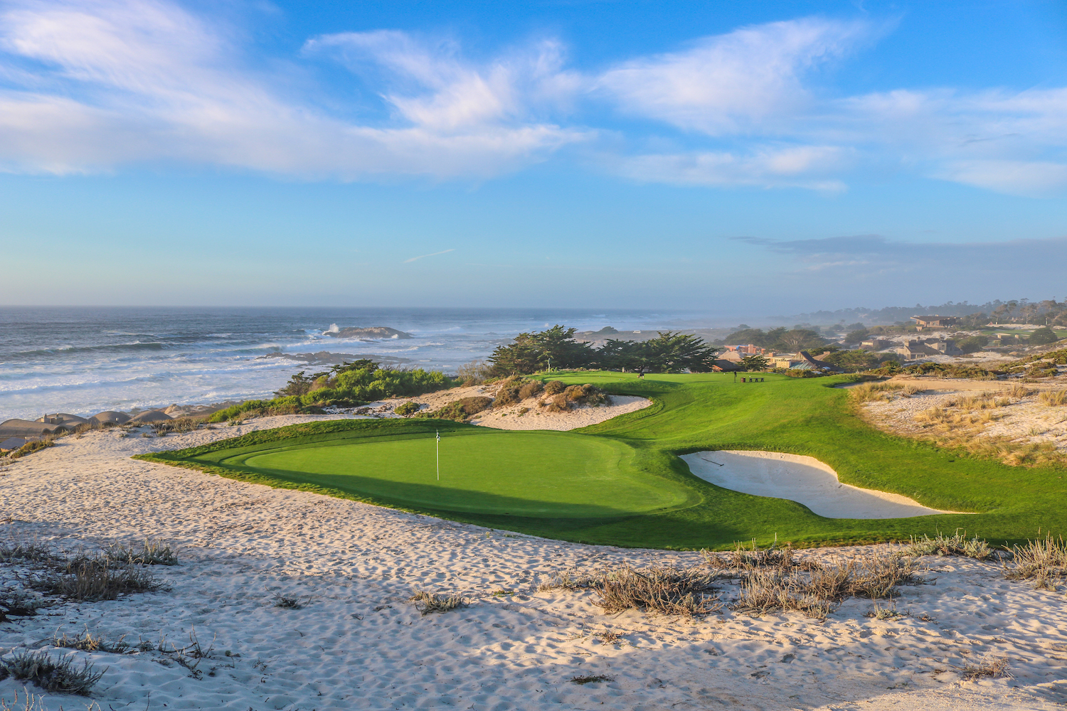 100 years of pebble beach: building spyglass hill | links magazine