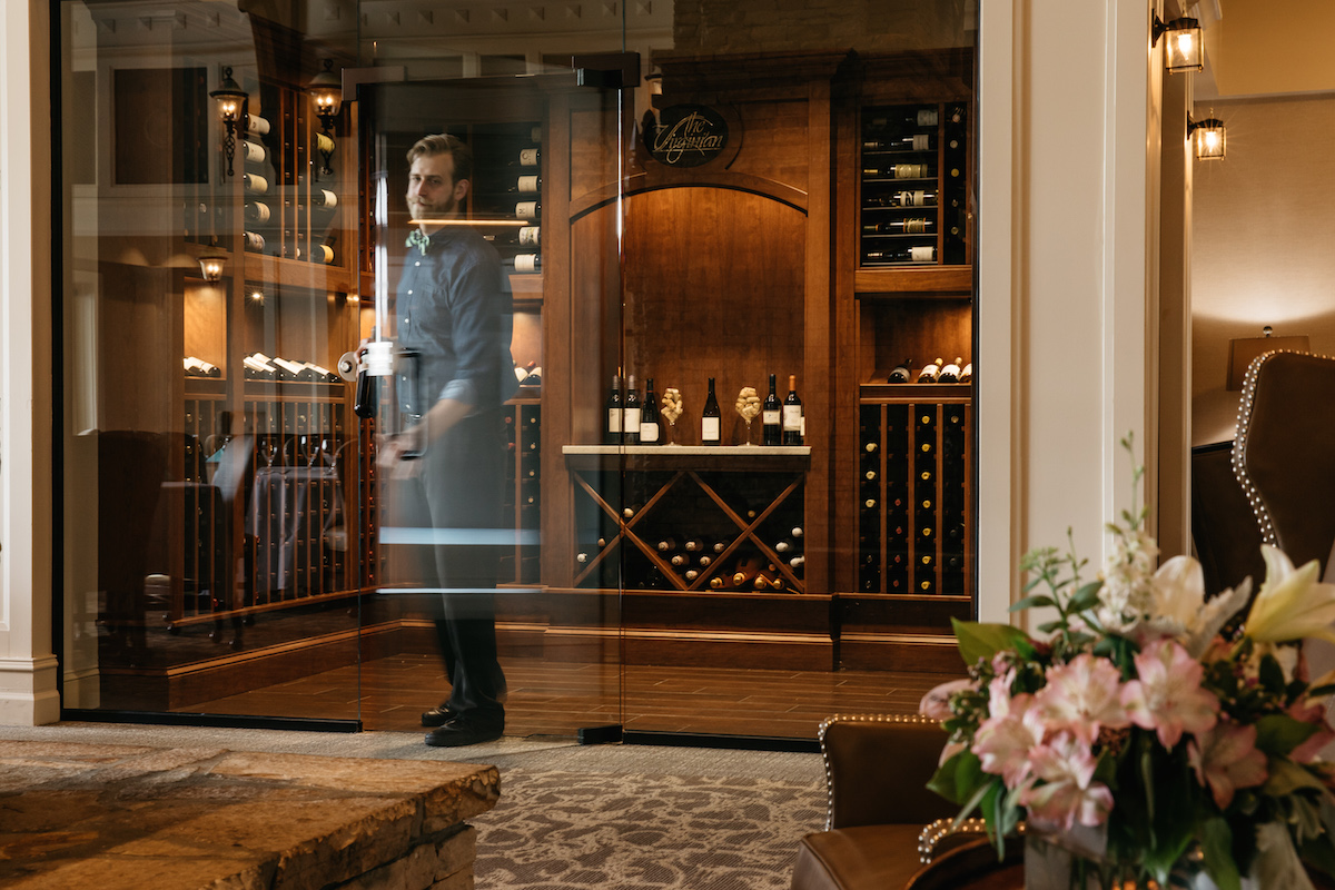 Once The Vineyard Began Producing, Management Realized The Clubhouse  Restaurant Needed A Bigger, Better Wine Cellar, Which They Constructed In  The Middle Of ...