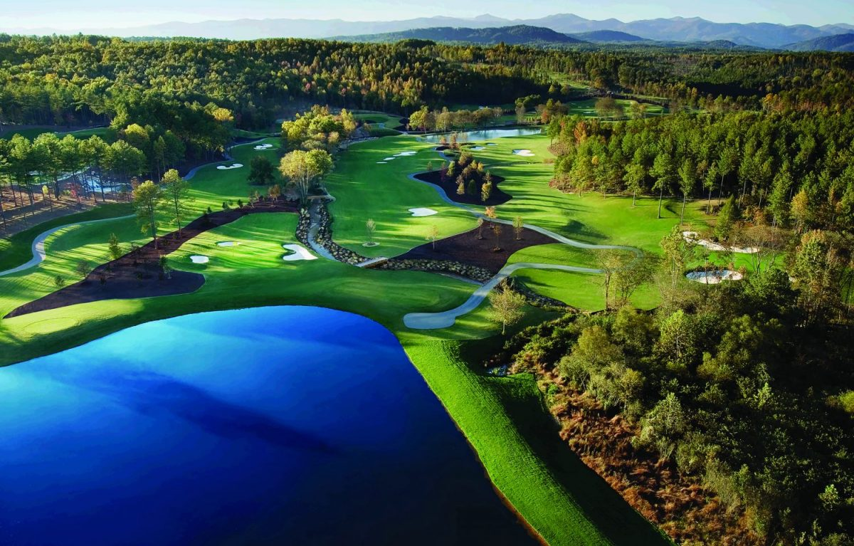 Golf Course Architect - Jack Nicklaus - The Cliffs at Keowee Falls