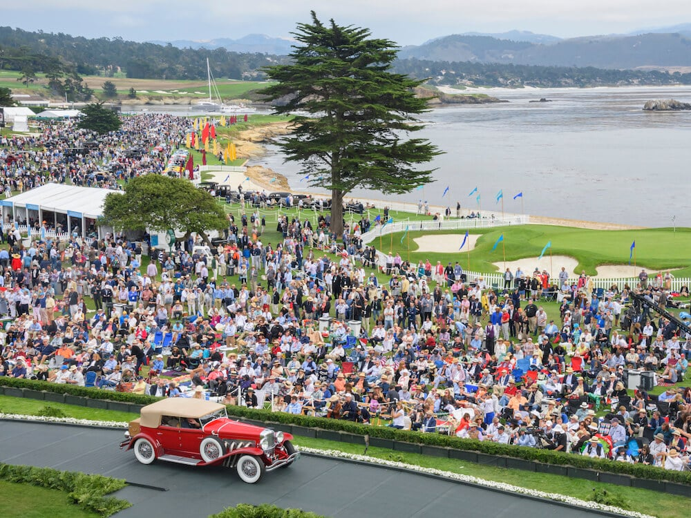 100 Years of Pebble Beach: Concours d'Elegance