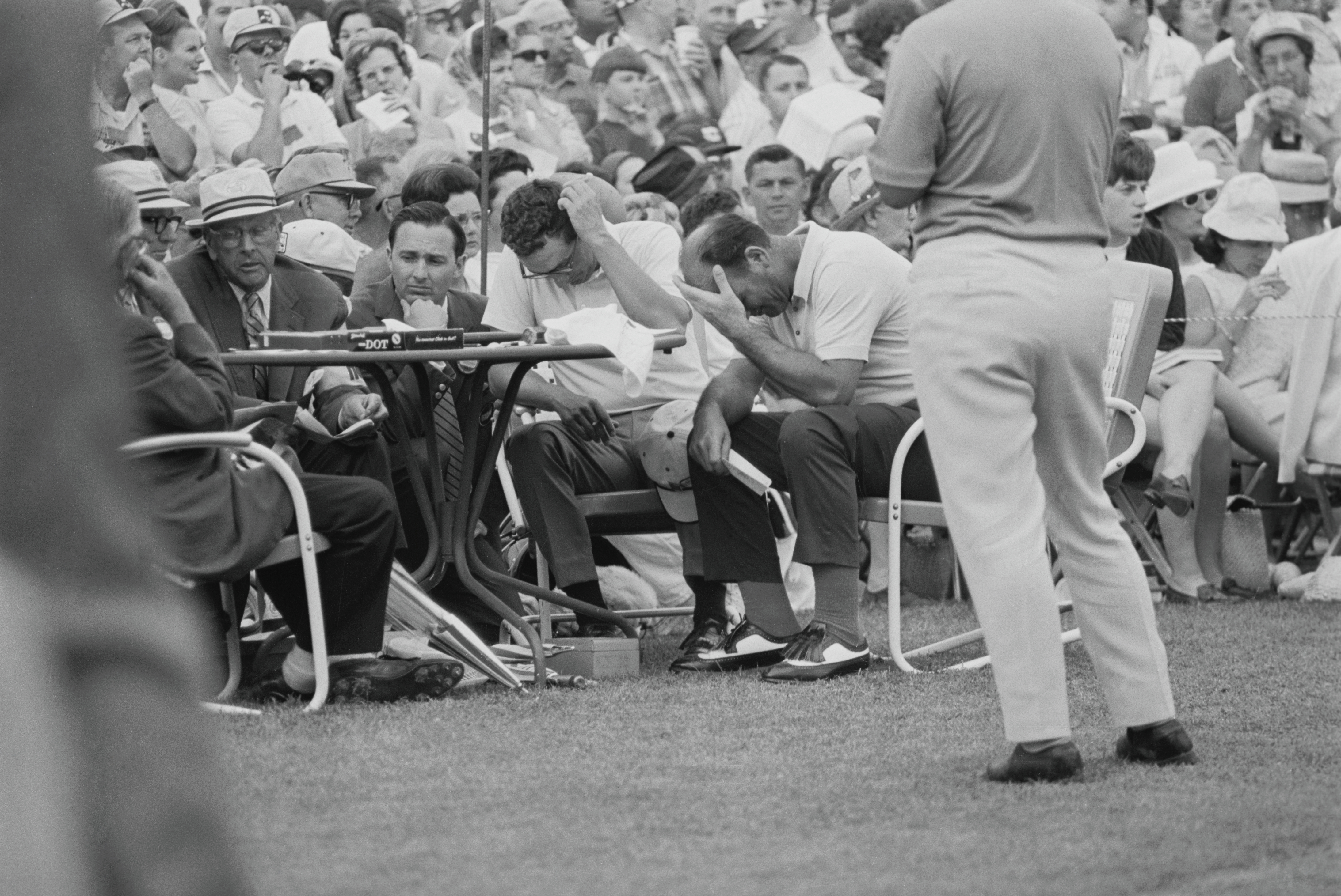 I Was There: The Collapse at The 1968 Masters