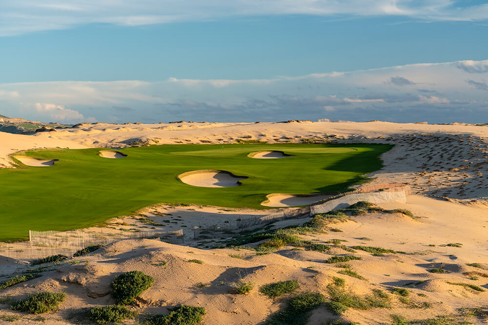 Revetted Bunkers at Los Cabos