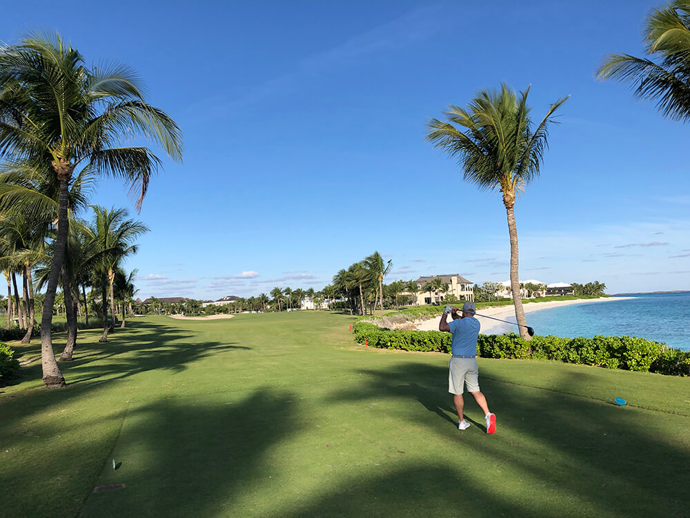 Golf in the Bahamas