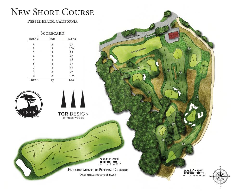 Short Course at Pebble Beach