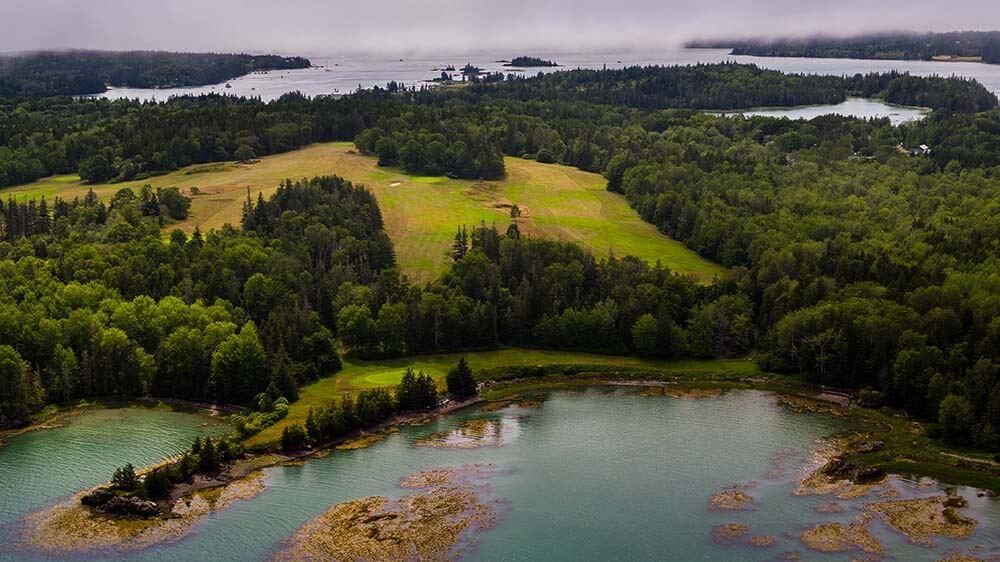 Maine's Island Courses