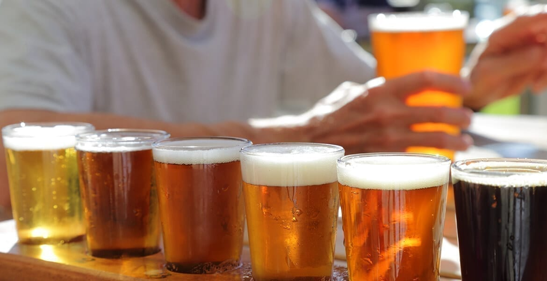 golf beer town